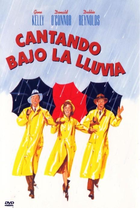 Poster de Cantando Bajo la Lluvia