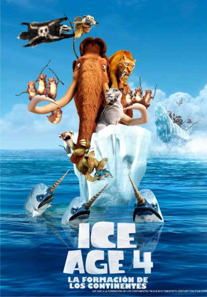 Poster de Ice Age 4
