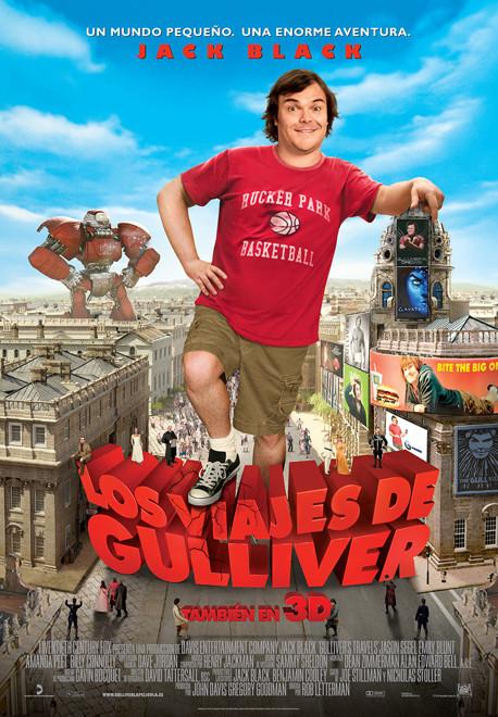 Poster de Los Viajes de Gulliver 2010