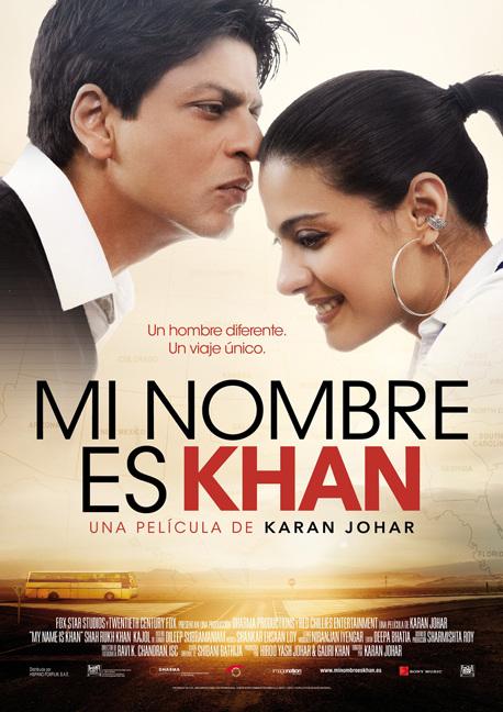 Poster de Mi Nombre es Khan