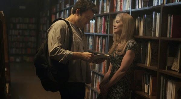 Ben Affleck y Rosamund Pike en Perdida