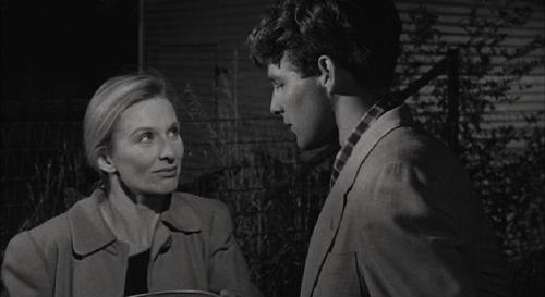 Cloris Leachman y Timothy Bottoms en La Última Película