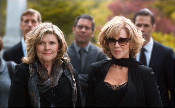 Jane Fonda y Debra Monk en Ahí os Quedáis