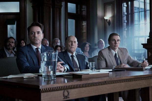 Robert Downey Jr., Robert Duvall y Dax Shepard en El Juez