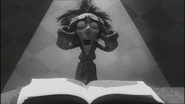Fotograma del cortometraje Vincent