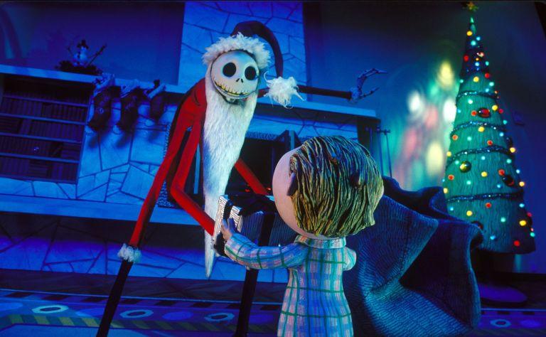 Jack Claus en Pesadilla Antes de Navidad