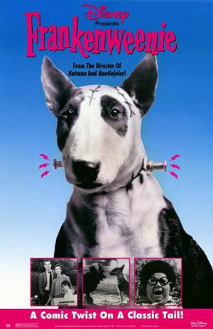 Poster del cortometraje Frankenweenie