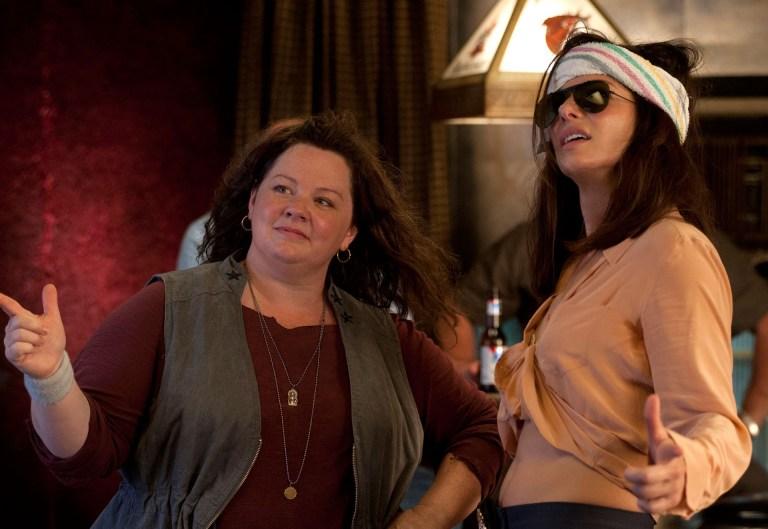 Melissa McCarthy y Sandra Bullock en Cuerpos Especiales
