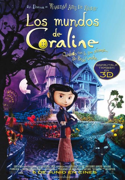 Poster de Los Mundos de Coraline