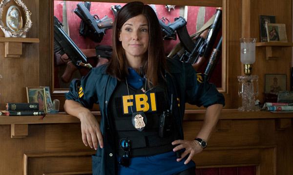 Sandra Bullock en Cuerpos Especiales