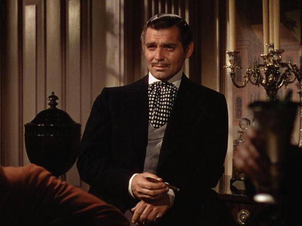 Clark Gable en Lo que el Viento se Llevó