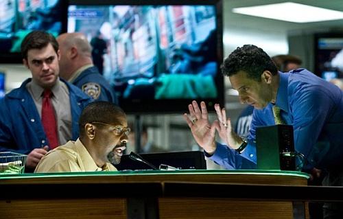 Denzel Washington y John Turturro en Asalto al Tren Pelham 123
