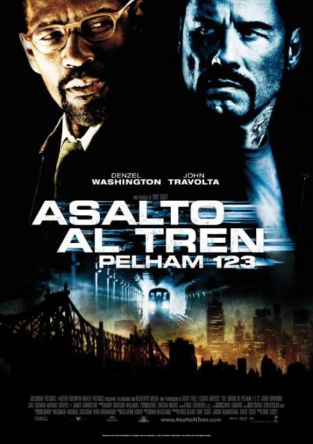 Poster de Asalto al Tren Pelham 1 2 3