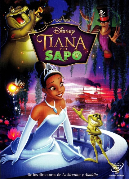 Poster de Tiana y el Sapo