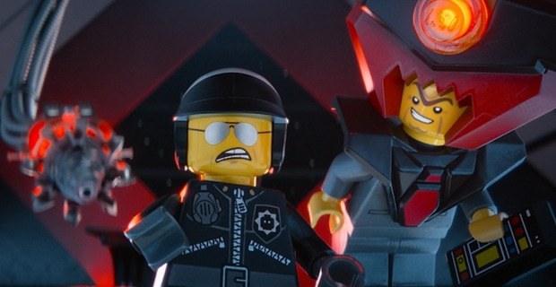 Bad Cop y Lord Business en La LEGO Película
