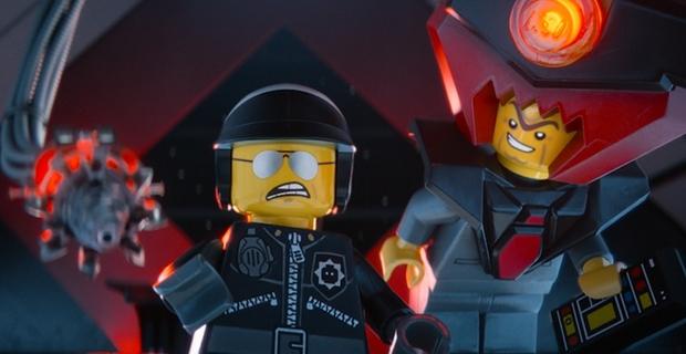 Bad Cop y Lord Business en La LEGO Película
