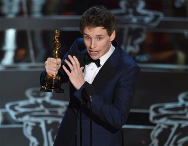 Eddie Redmayne y su Oscar 2015