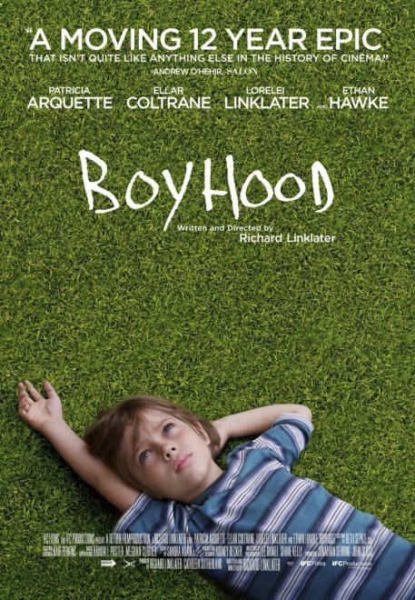 Poster de Boyhood