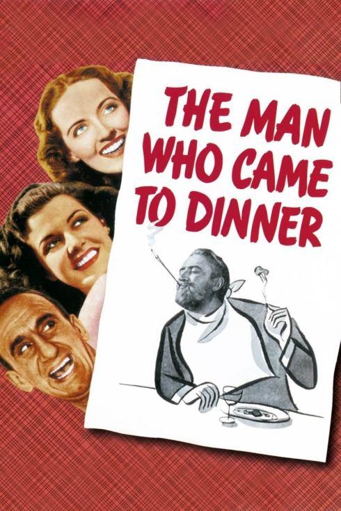 Poster de El Hombre que Vino a Cenar