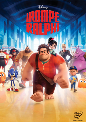 Poster de Rompe Ralph