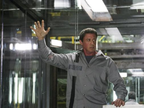 Sylvester Stallone en Plan de Escape