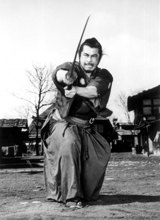 Toshiro Mifune en Yojimbo