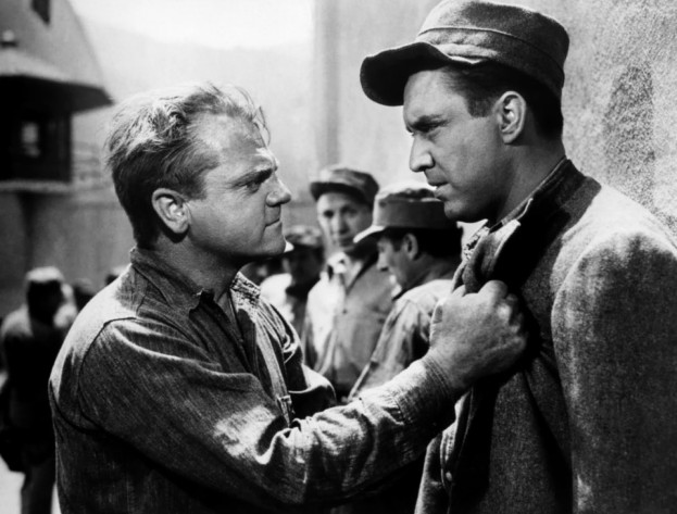 James Cagney y Edmond O'Brien en Al Rojo Vivo