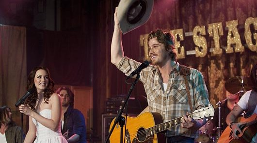 Leighton Meester y Garrett Hedlund en Country Strong