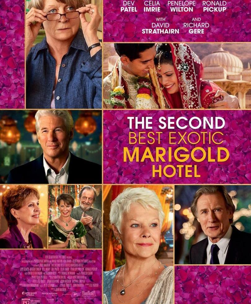 Poster El Nuevo Exótico Hotel Marigold