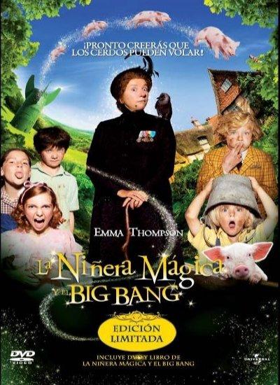 Poster de La Niñera Mágica y el Big Bang