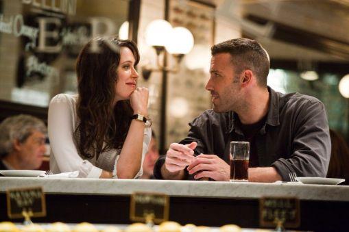 Rebecca Hall y Ben Affleck en The Town