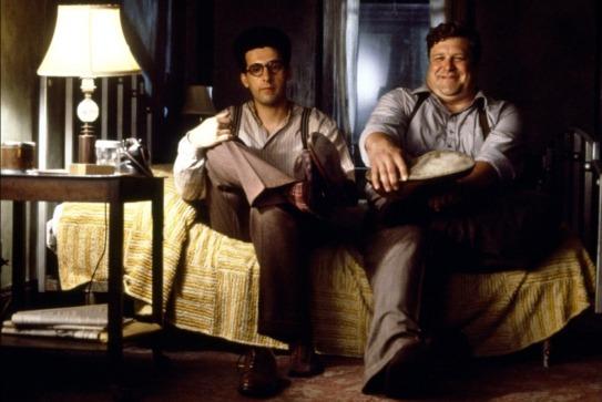 John Turturro y John Goodman en Barton Fink