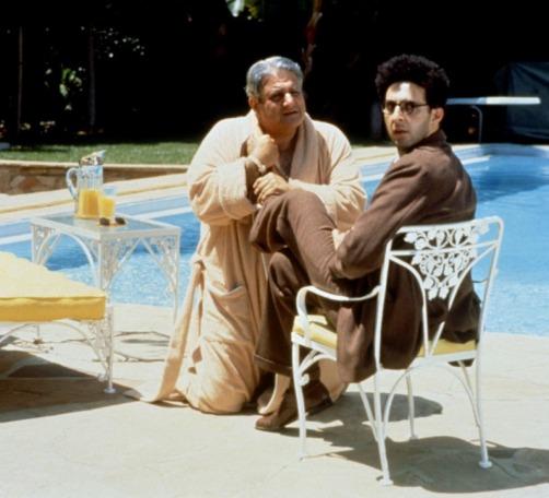 Michael Lerner y John Turturro en Barton Fink