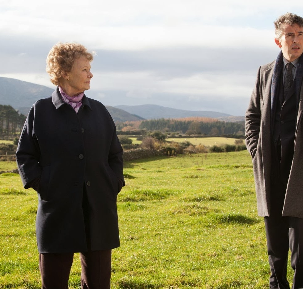 Judi Dench y Steve Coogan en Philomena