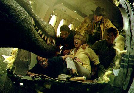 Protagonistas de Parque Jurásico III