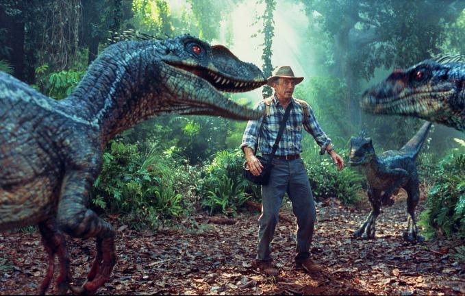 Sam Neill en Parque Jurásico III
