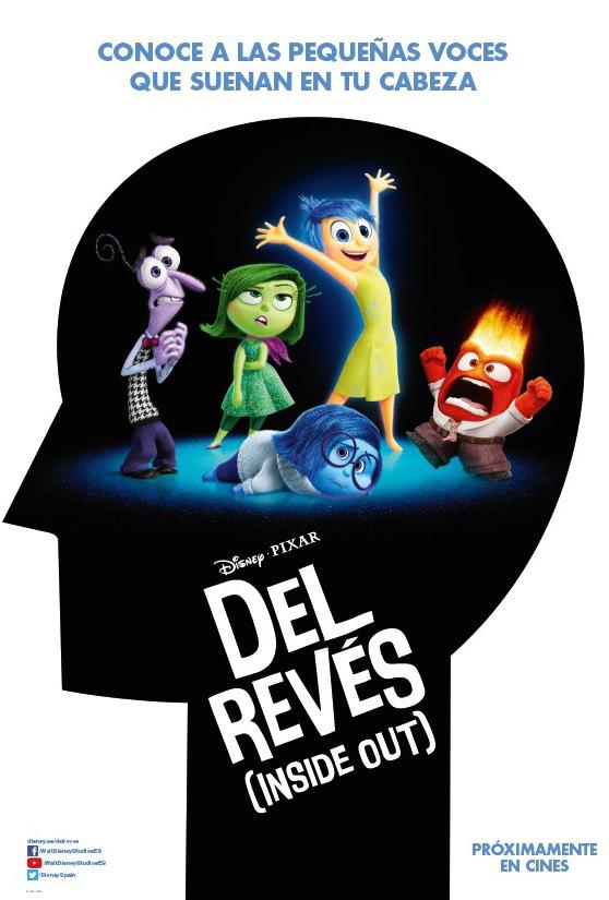 Poster de Del Revés (Inside Out)