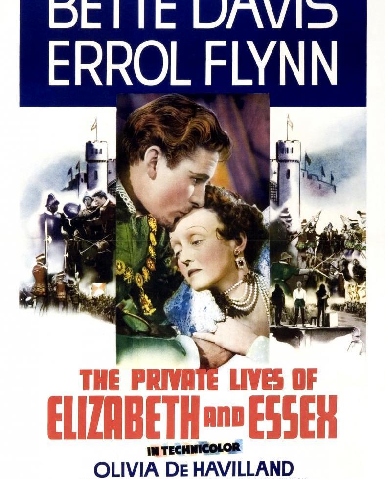 Poster de La Vida Privada de Elizabeth y Essex