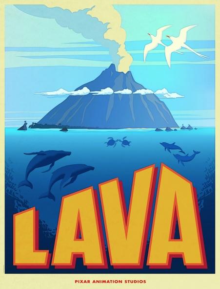 Poster del cortometraje Lava
