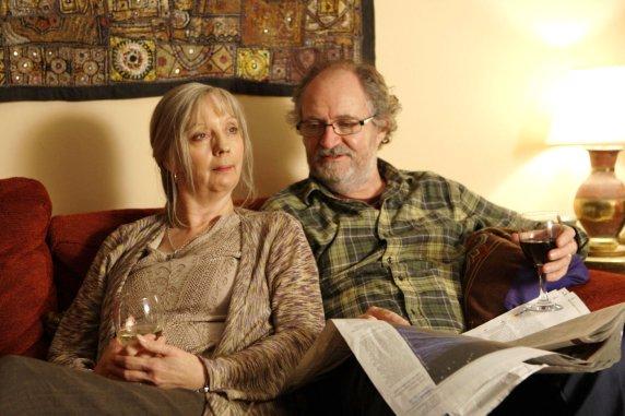 Ruth Sheen y Jim Broadbent en Another Year