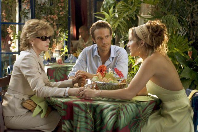 Jane Fonda, Michael Vartan y Jennifer Lopez en