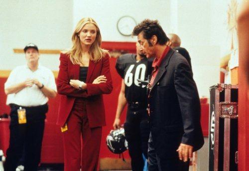Cameron Diaz y Al Pacino en Un Domingo Cualquiera