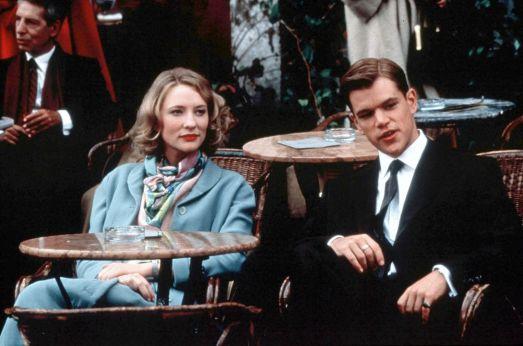 Cate Blanchett y Matt Damon en El Talento de Mr. Ripley