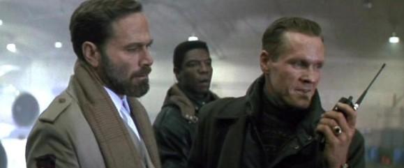 Franco Nero y William Sadler en La Jungla 2 (Alerta Roja)