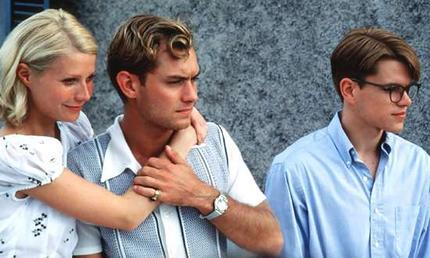Gwyneth Paltrow, Jude Law y Matt Damon en El Talento de Mr. Ripley