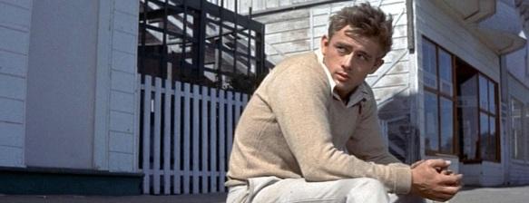 James Dean en Al Este del Edén