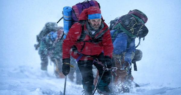 Jason Clarke en Everest