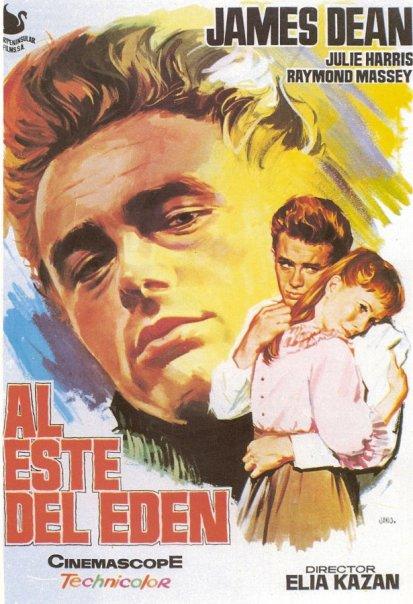 Poster de Al este del Edén