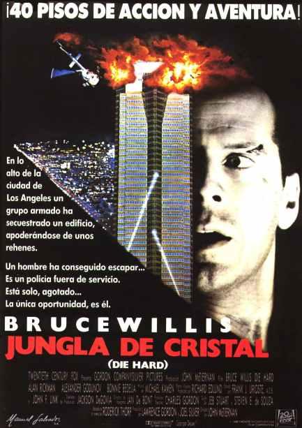Poster de Jungla de Cristal