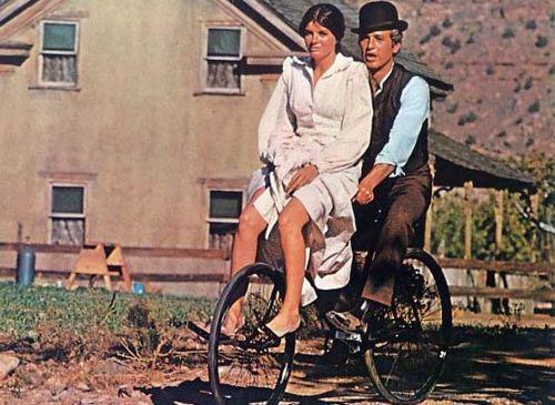 Katharine Ross y Paul Newman en Dos Hombres y un Destino